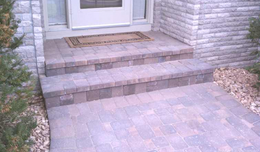 Landscaping Project - steps