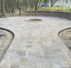 Landscaping Project - Walkway
