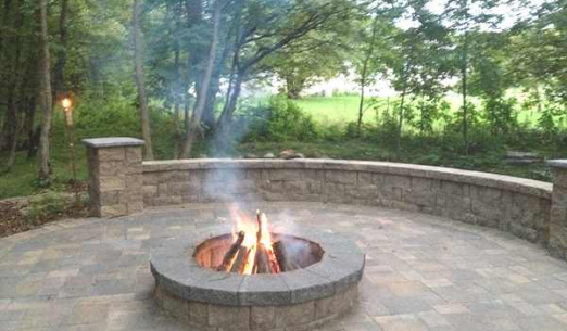 Landscaping Project - Firepit