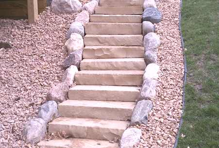Stairway Landscaping