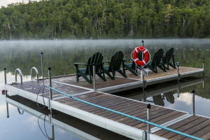 Remove docks or install docks at your lake property.